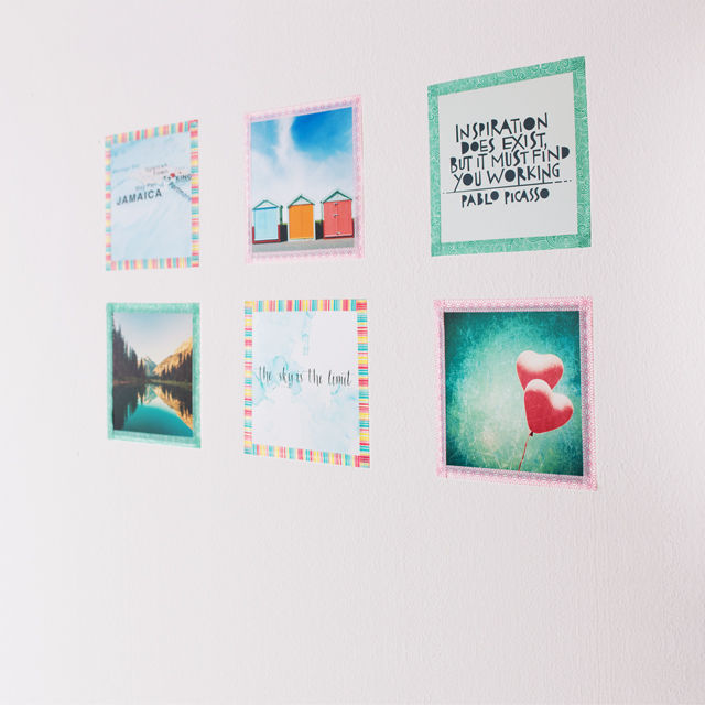 Washi Tape Art Prints DIY